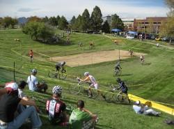 Racing on grass