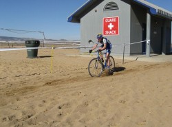 Racing at the Boulder Reservoir