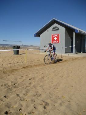 Racing at the Boulder Reservoir