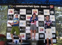2008 Cincinnati UCI3 podium