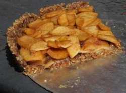 No-bake apple tart
