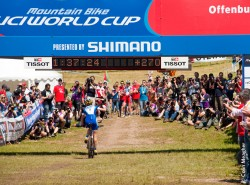 Finishing 2nd at the 2010 Offenburg World Cup