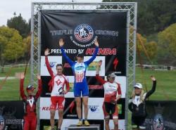 Pro XCT #1 Bonelli podium